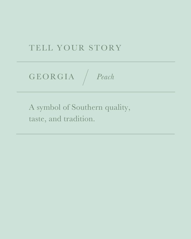 Georgia Peach Charm