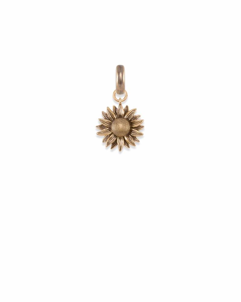 Kansas Sunflower Charm