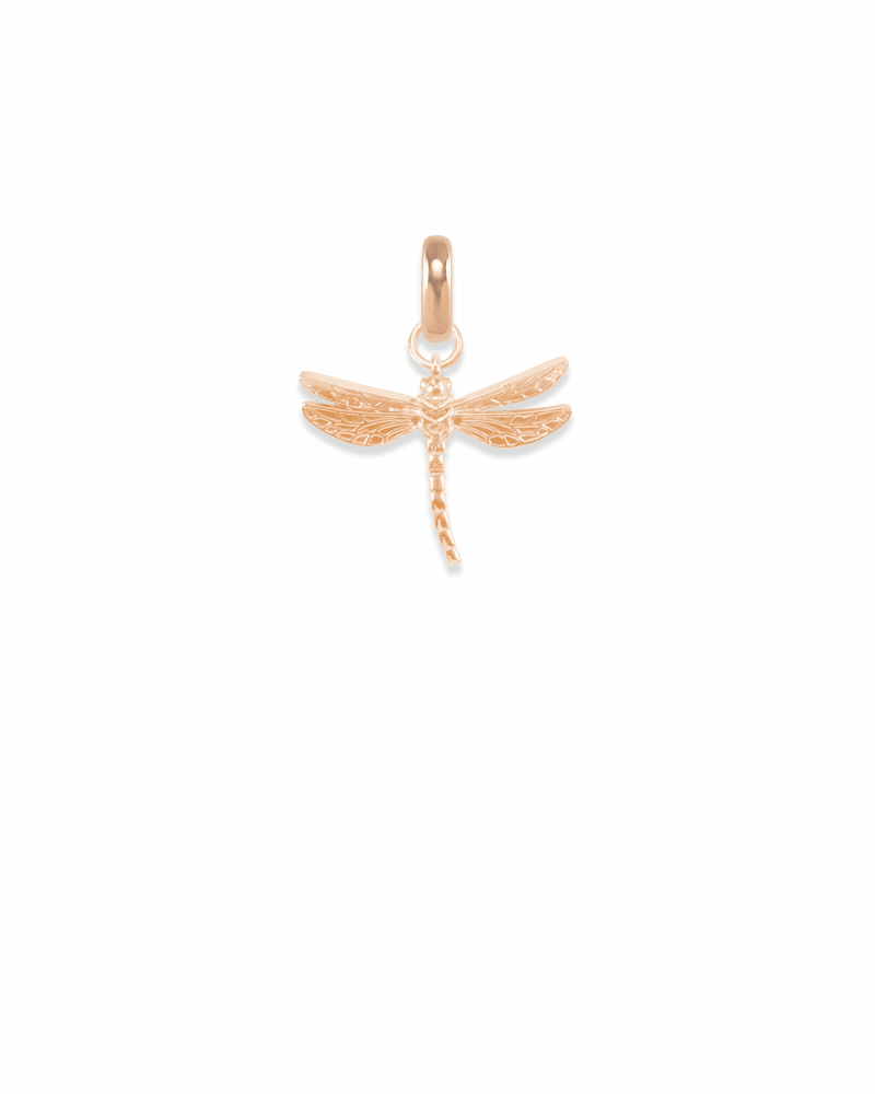 Michigan Dragonfly Charm