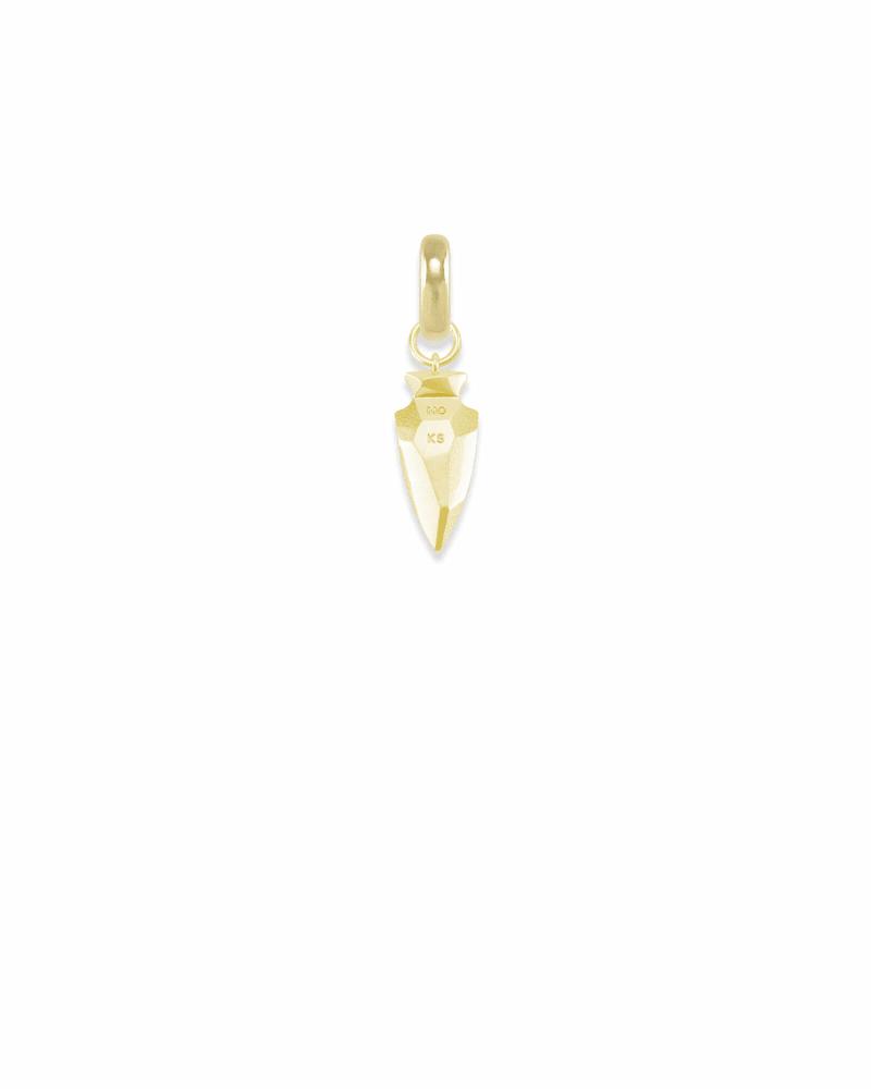 Missouri Arrowhead Charm in Gold
