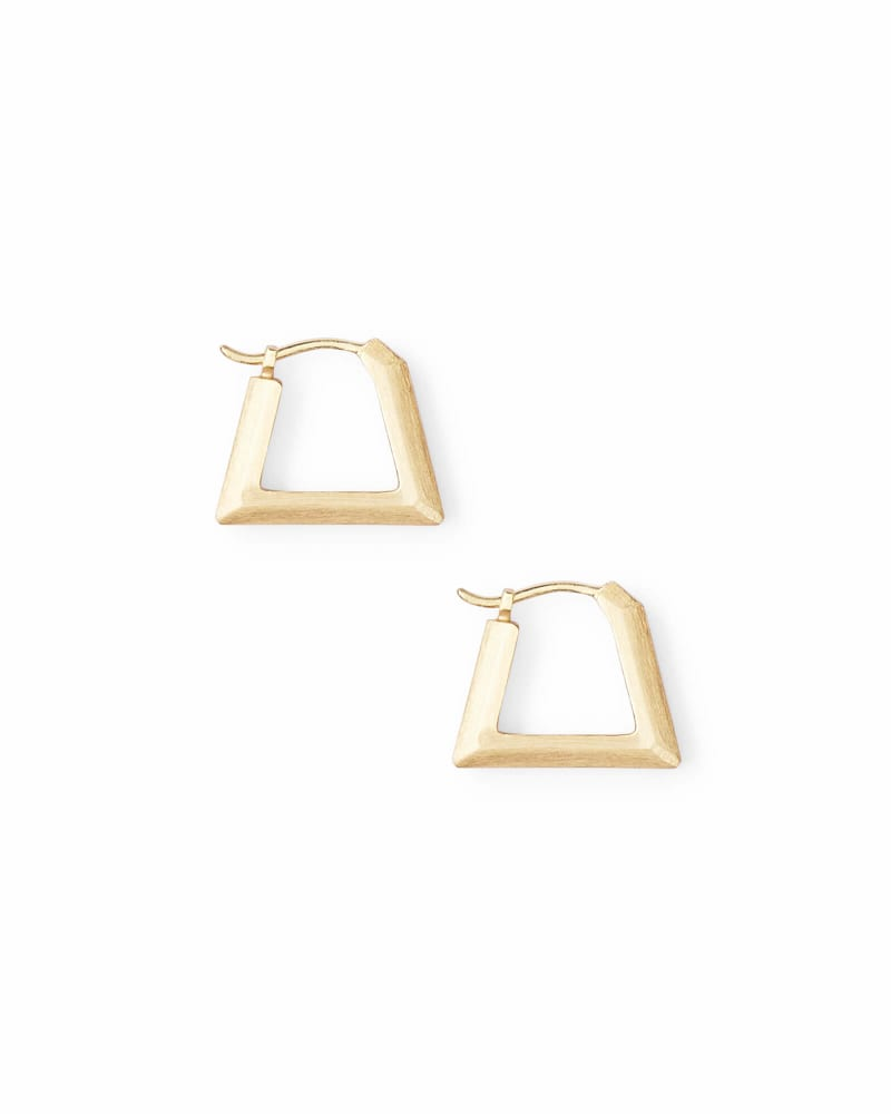Renzo Huggie Earrings in Gold