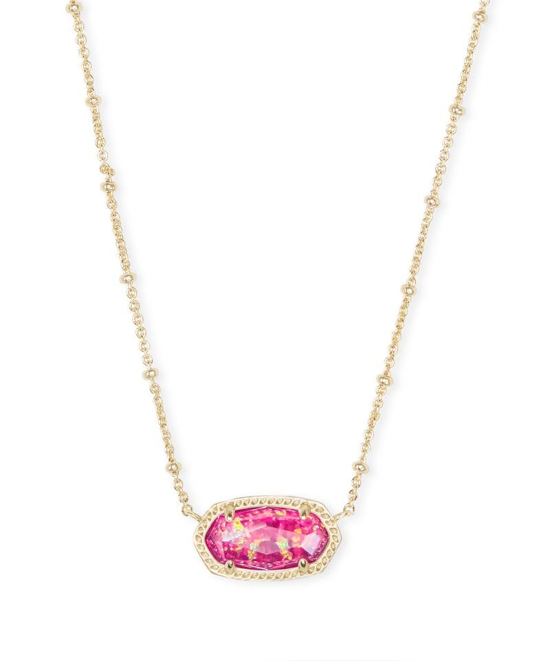 Elisa Gold Satellite Pendant Necklace