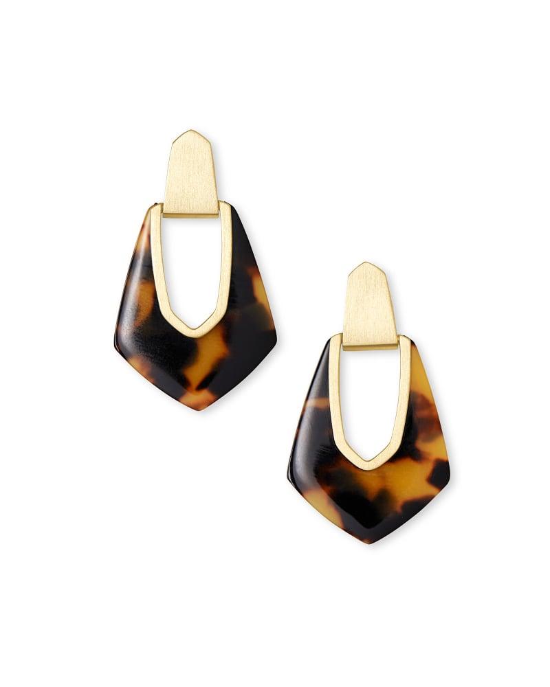 Kensley Drop Earrings In Acetate