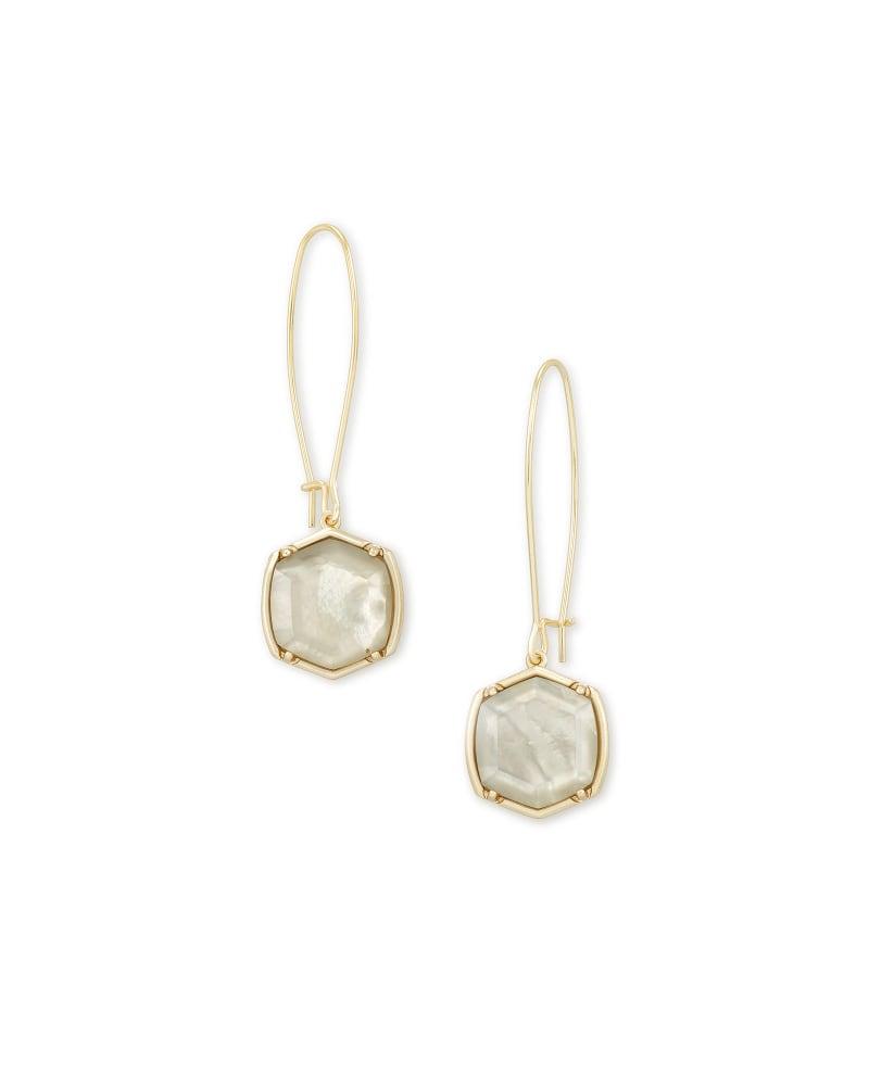 Davis Gold Drop Earrings