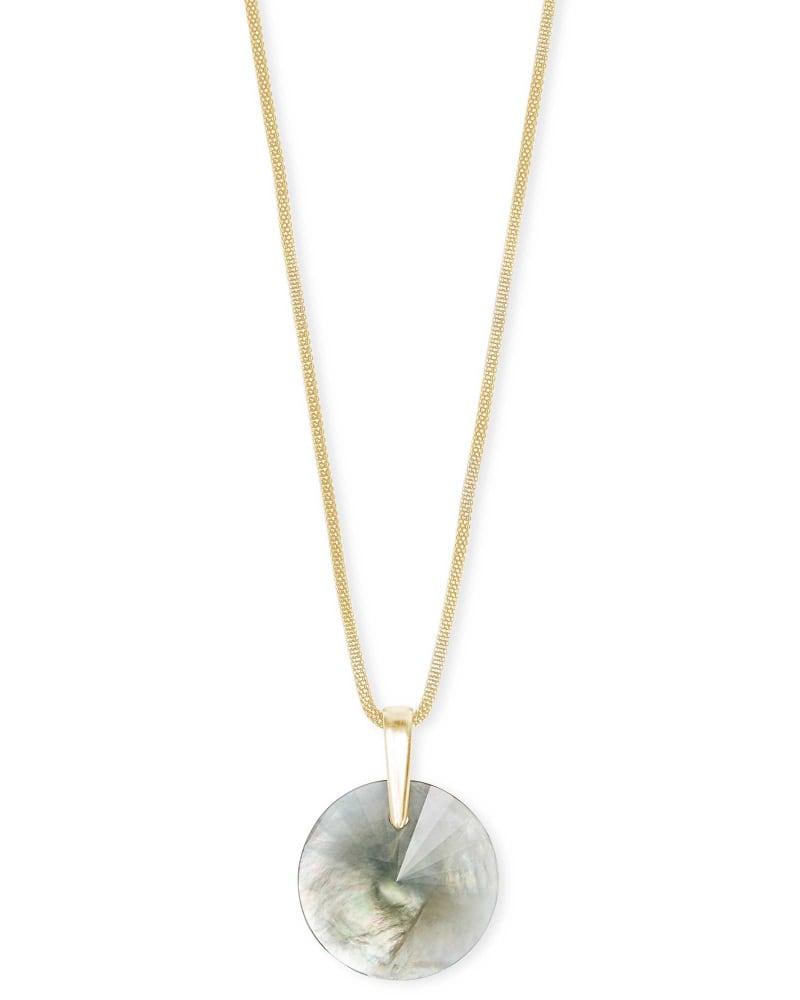 Jolie Long Pendant Necklace