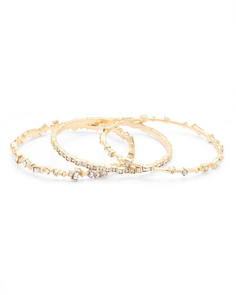 Malia Bangle Bracelet Set
