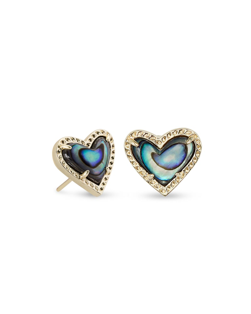 Ari Heart Stud Earrings
