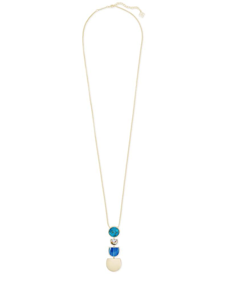 Luna Long Pendant Necklace