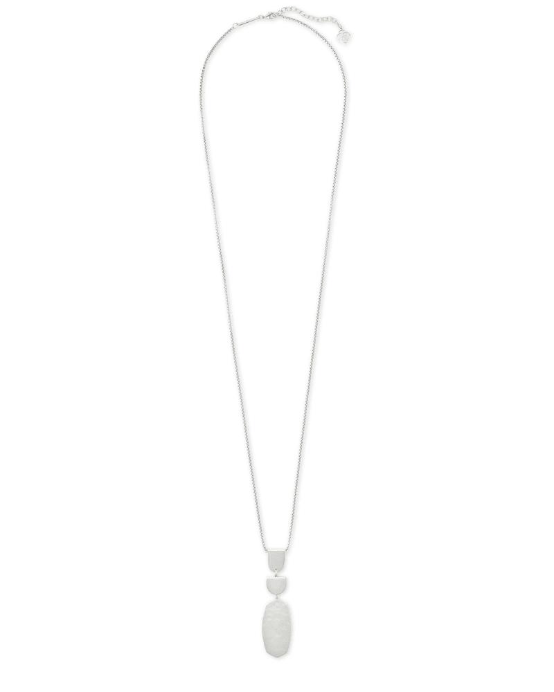 Noah Long Pendant Necklace