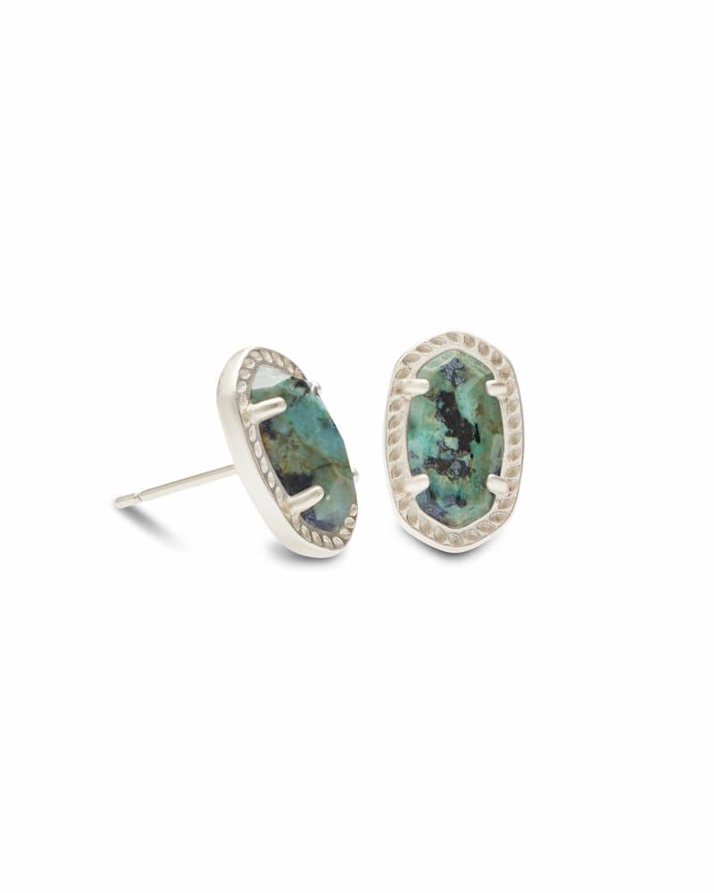 Emery Stud Earrings in Silver