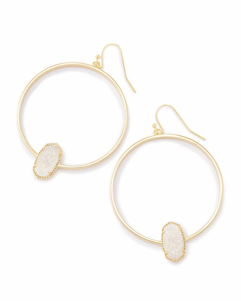 Elora Gold Hoop Earring