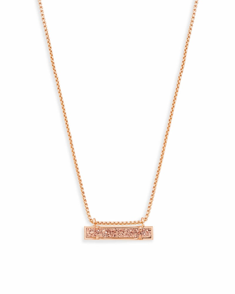 Leanor Pendant Necklace in Rose Gold