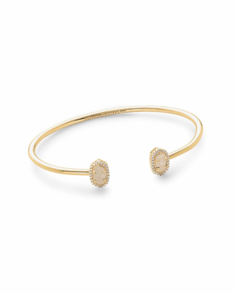 Calla Cuff Bracelet in Gold