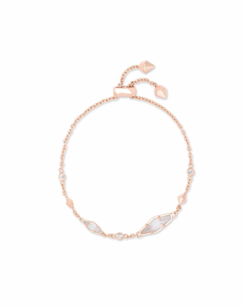 Deb Adjustable Chain Bracelet In Rose Gold