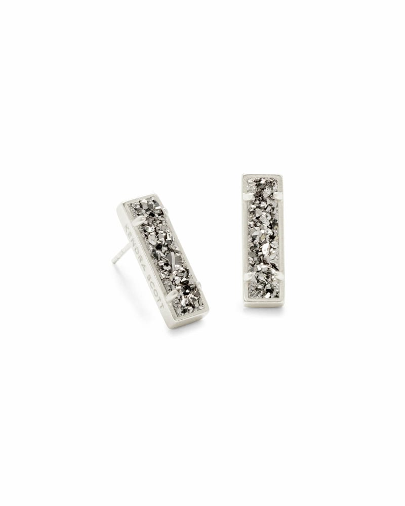 Lady Stud Earrings in Silver