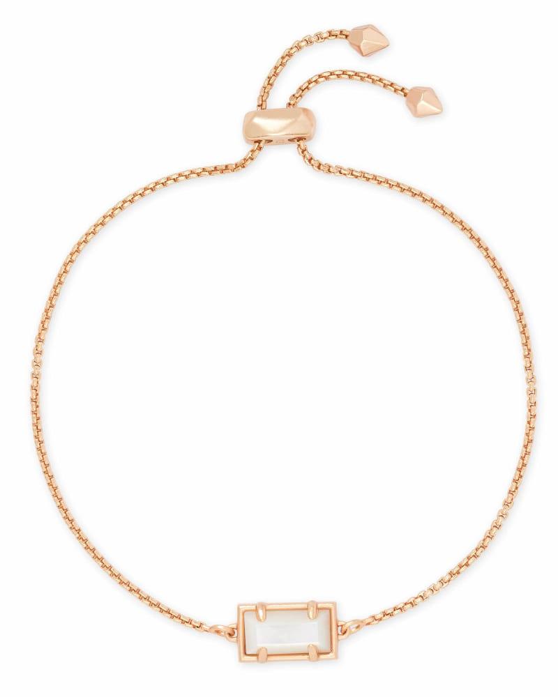 Phillipa Chain Bracelet in Rose Gold