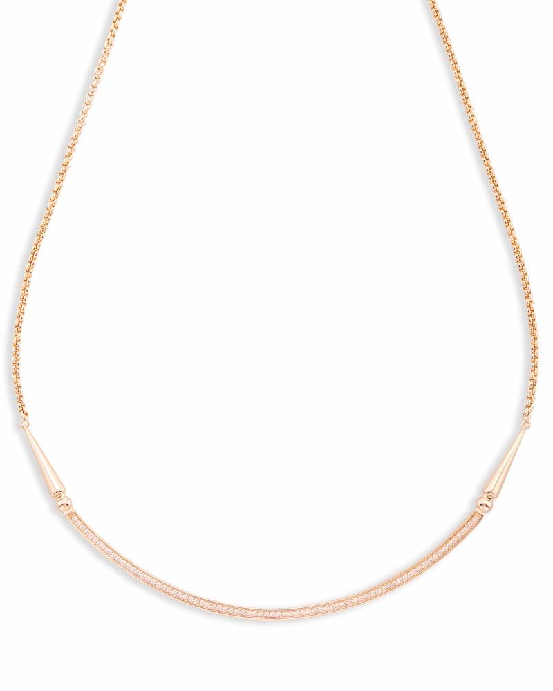 Scottie Choker Necklace in Rose Gold