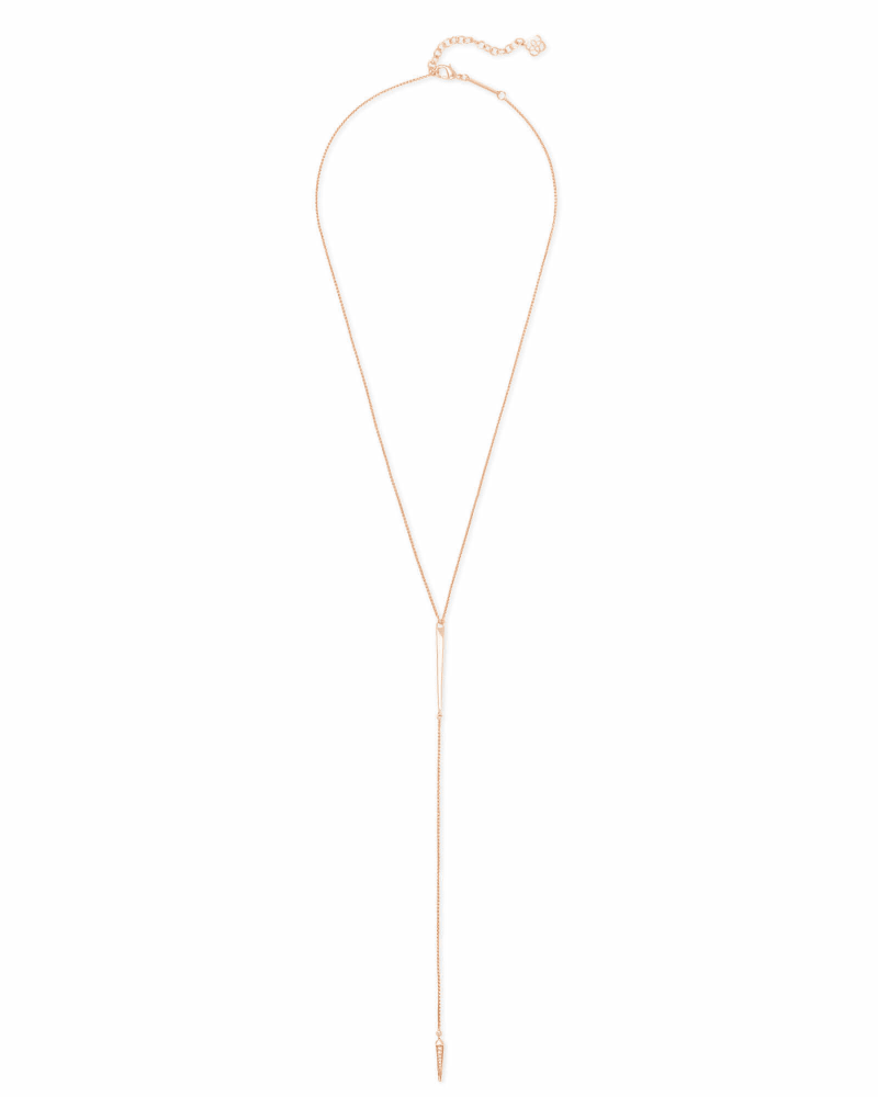 Vivian Necklace in Rose Gold
