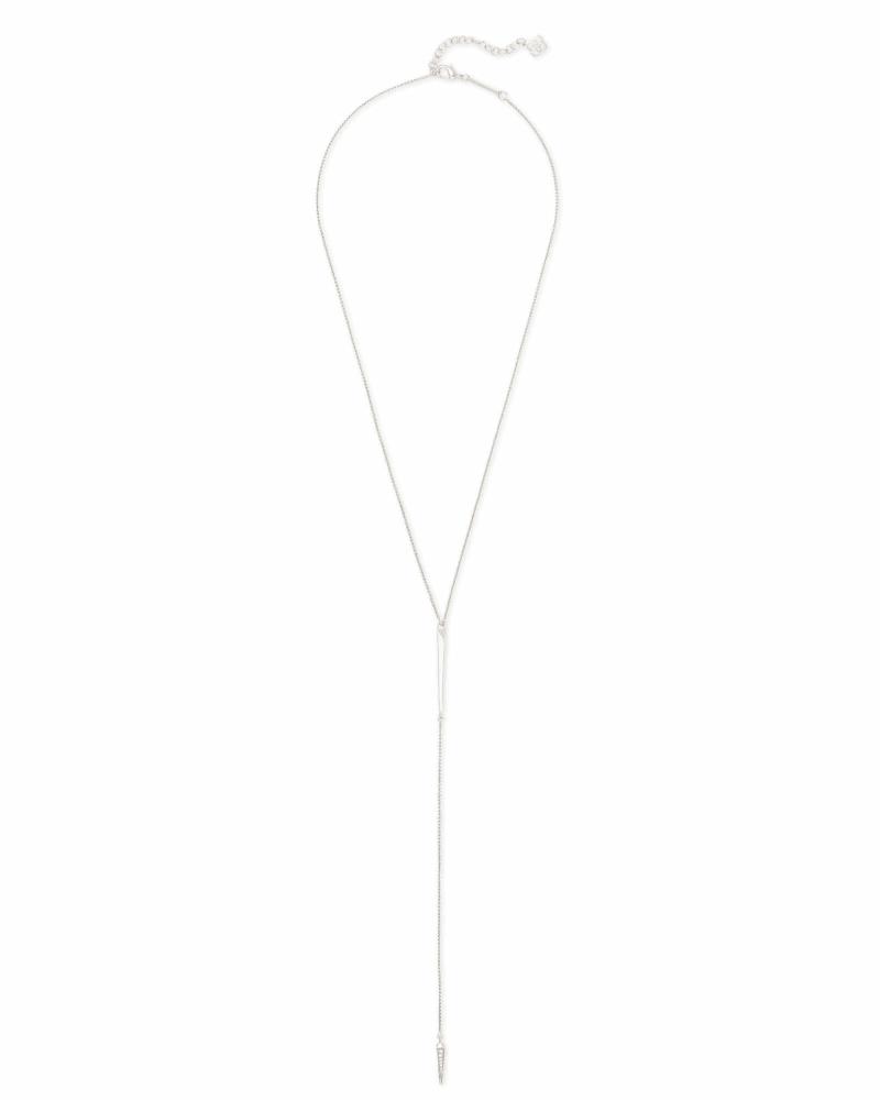 Vivian Necklace in Silver