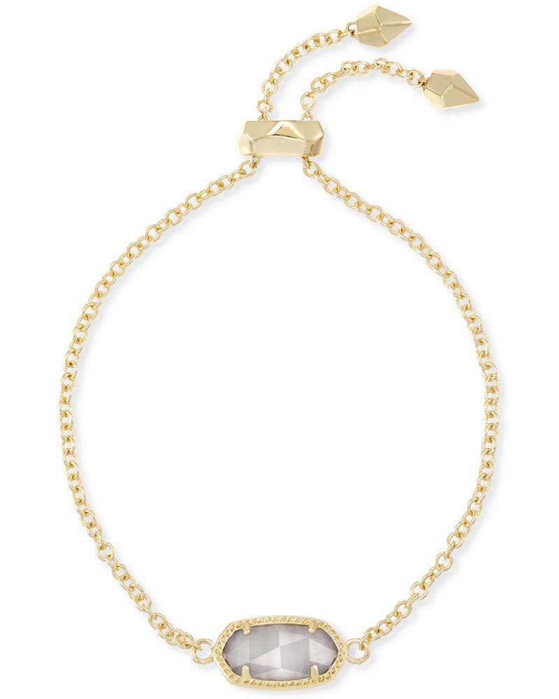 Elaina Adjustable Chain Bracelet in Slate