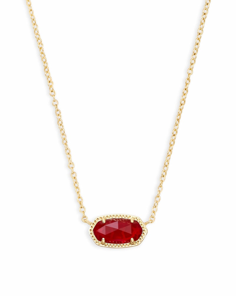 Elisa Pendant Necklace in Ruby Red | Kendra Scott