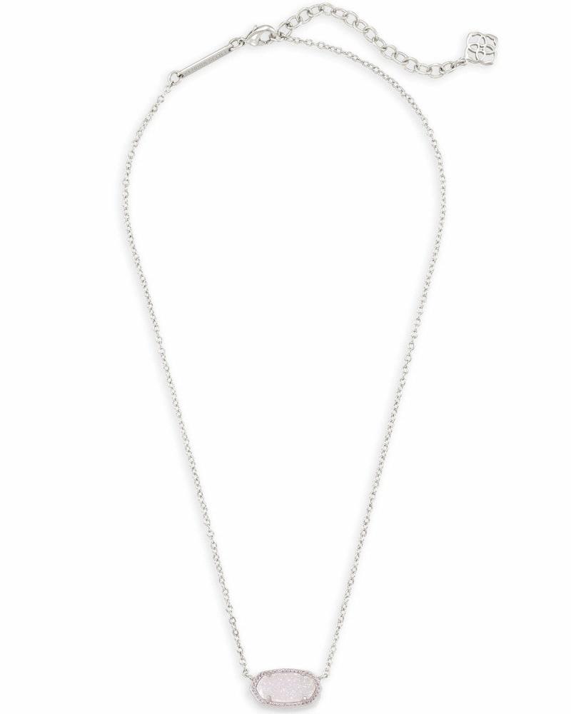 Elisa Pendant Necklace in Silver