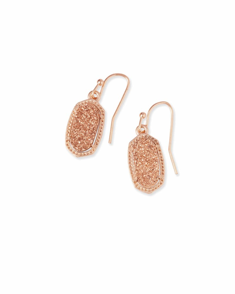 Lee Drop Earrings in Rose Gold