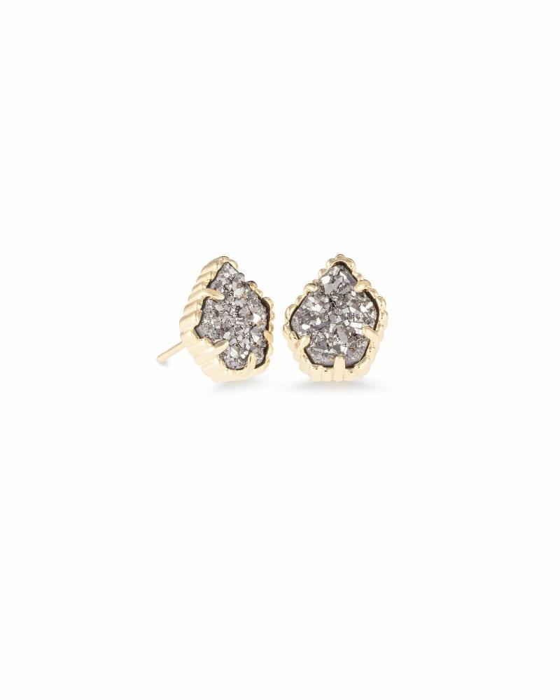 Tessa Stud Earrings in Gold   Kendra Scott