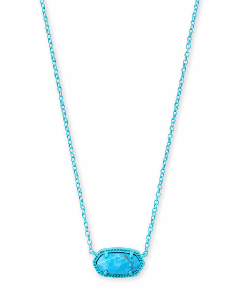 Elisa Matte Pendant Necklace