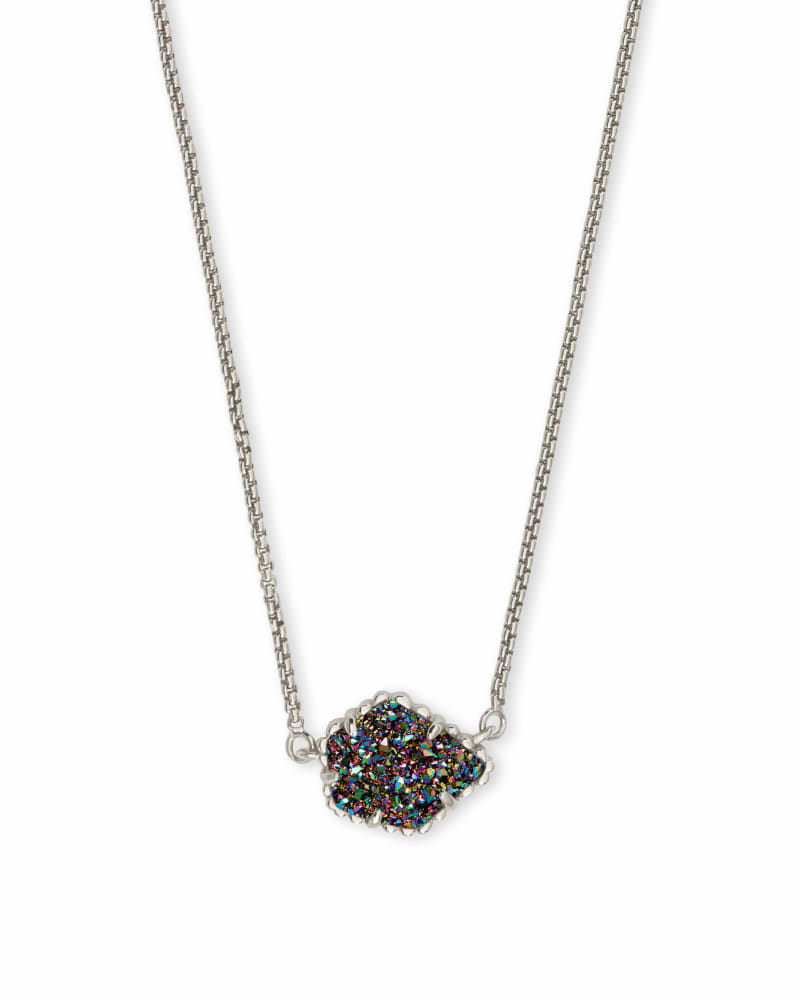 Tess Pendant Necklace in Silver