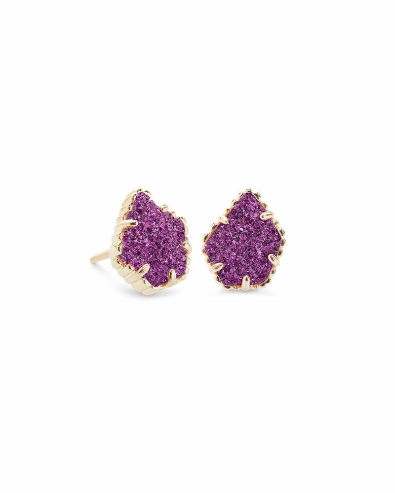 Tessa Stud Earrings in Gold