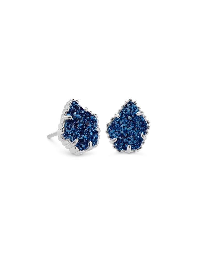 Tessa Stud Earrings in Silver