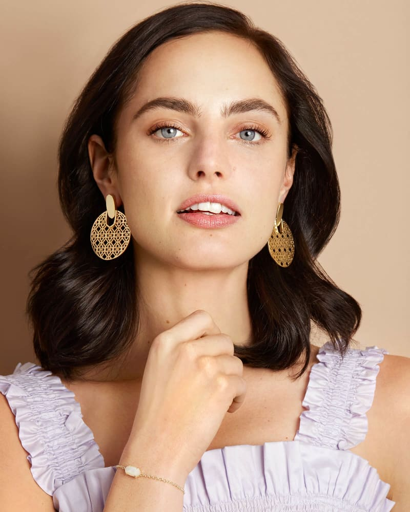 Didi Filigree Statement Earrings