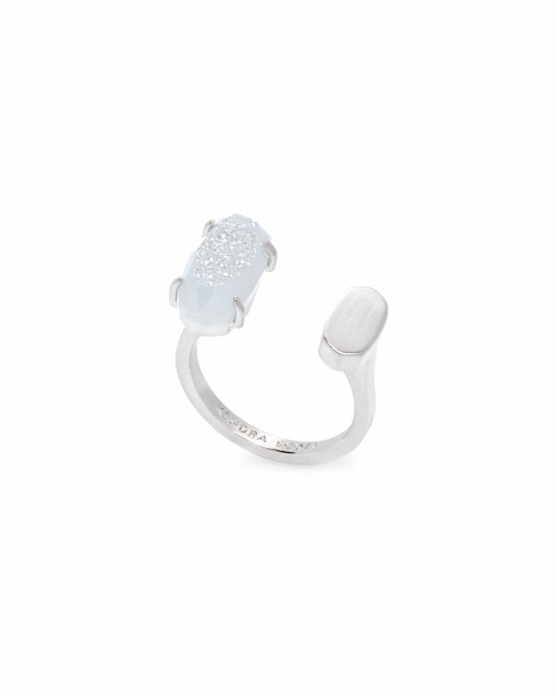 Pryde Silver Open Ring