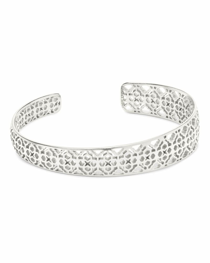 Uma Cuff Bracelet In Silver