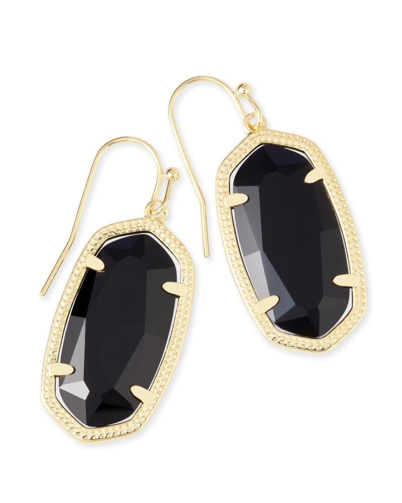 Dani Drop Earrings in Gold