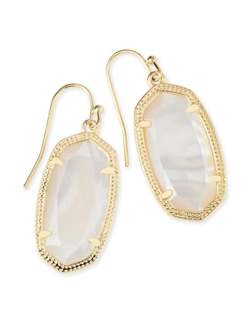 Dani Earrings in Ivory Pearl | Kendra Scott