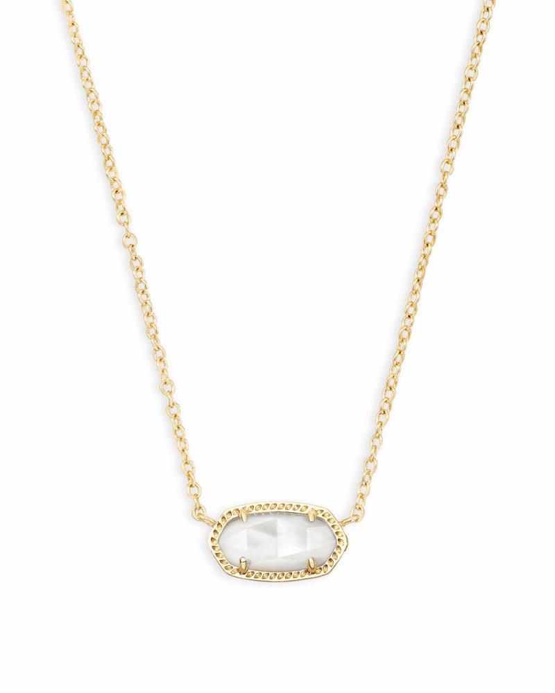 Elisa Pendant Necklace in Ivory Pearl | Kendra Scott