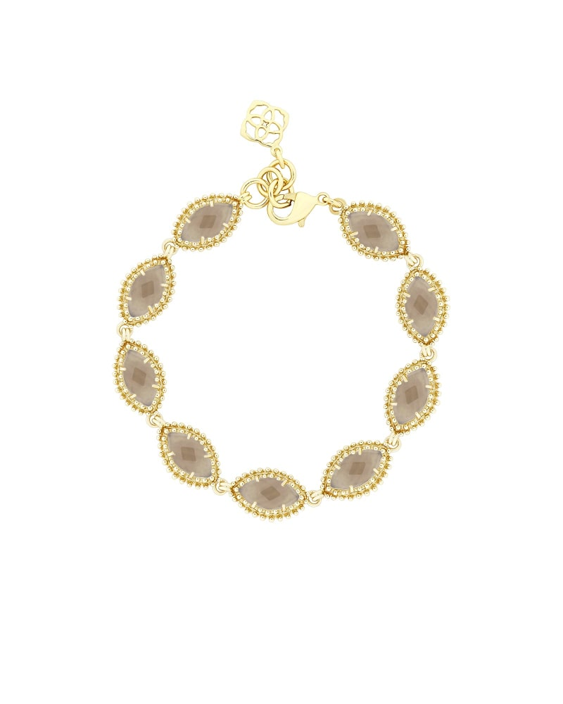 Jana Gold Bracelet in Smoky