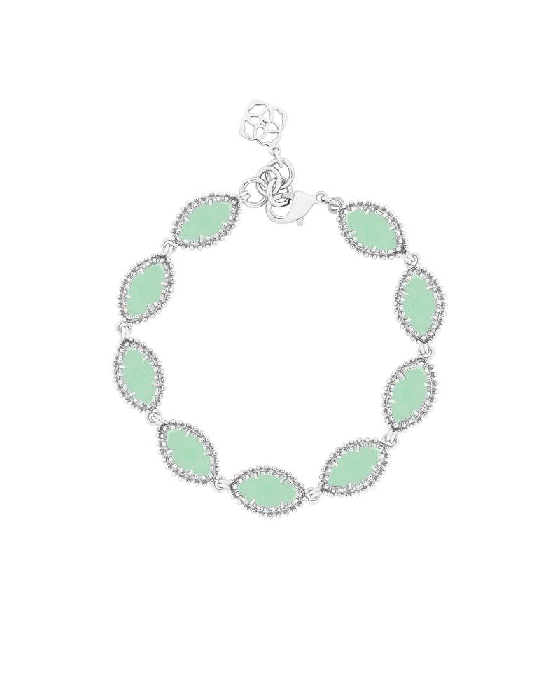 Jana Silver Bracelet in Chalcedony