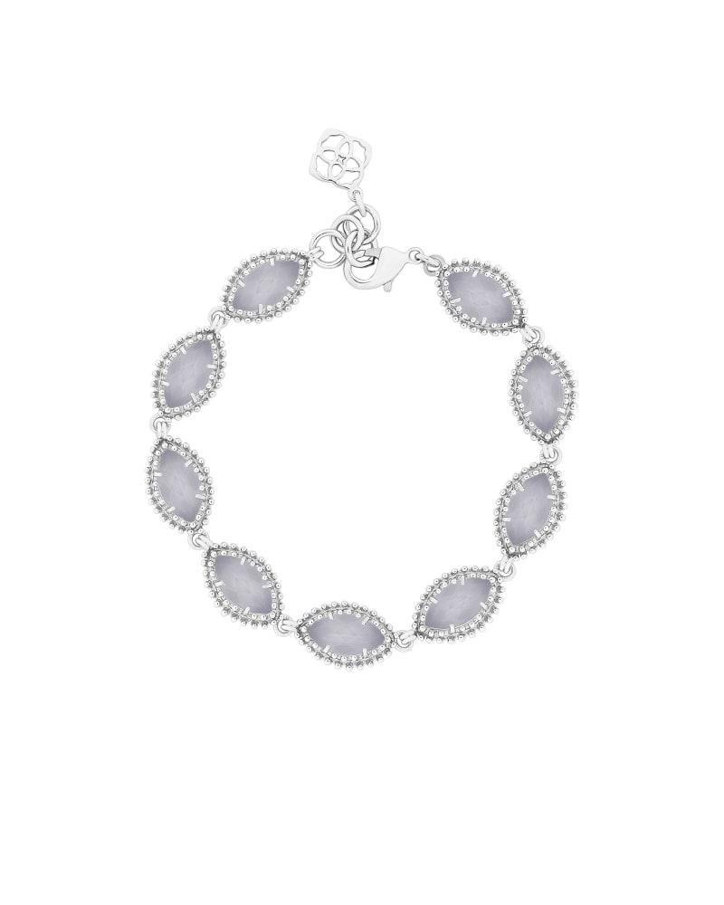 Jana Silver Bracelet in Slate