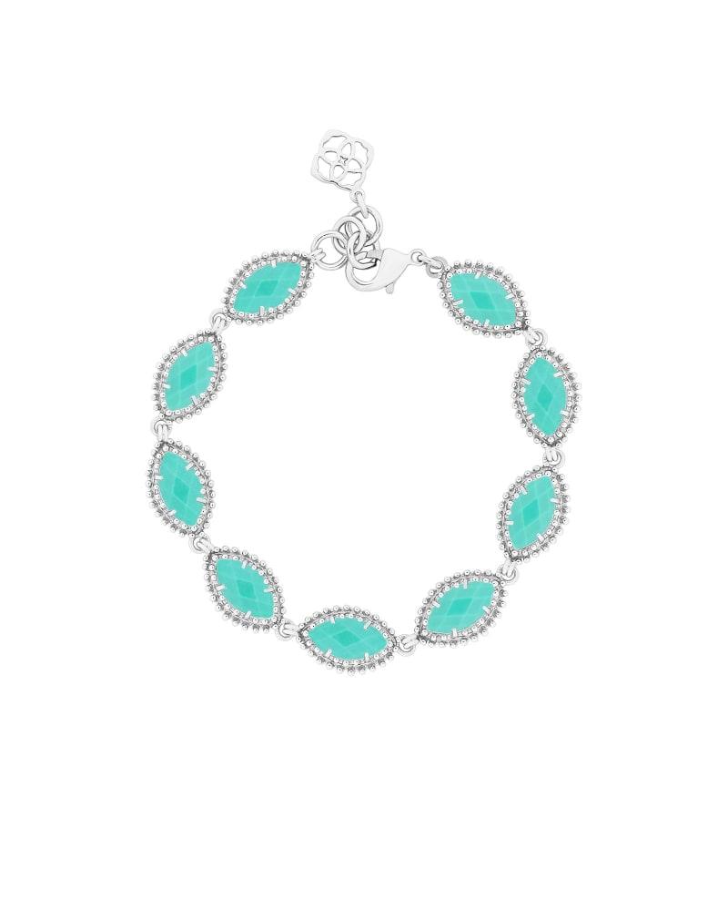 Jana Silver Bracelet in Teal