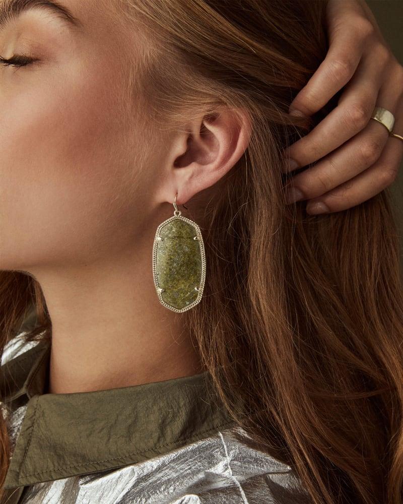 Danielle Rose Gold Earrings in Ivory Pearl | Kendra Scott