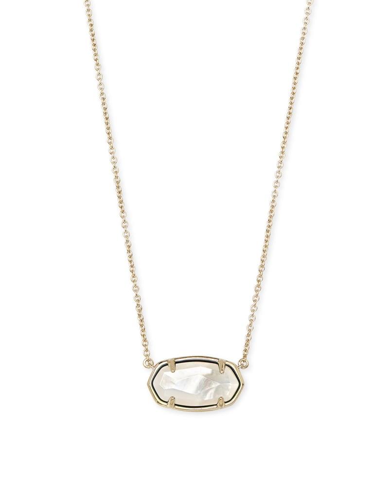 Elisa 18k Gold Vermeil Pendant Necklace