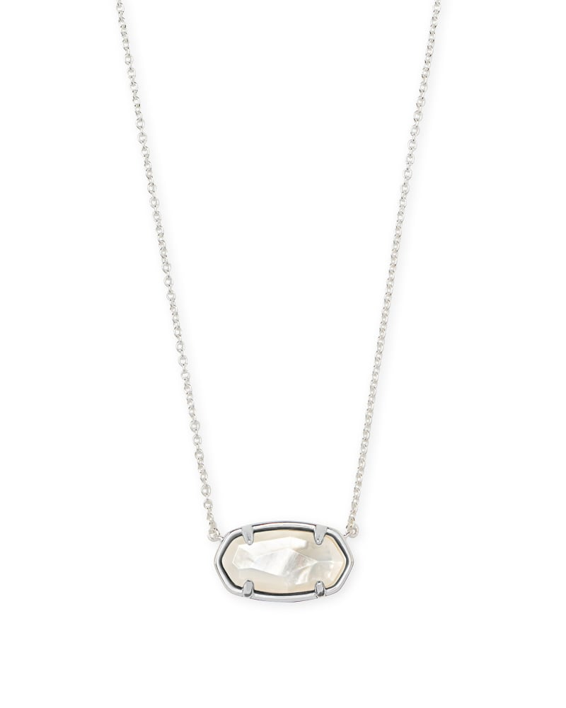 Elisa Sterling Silver Pendant Necklace