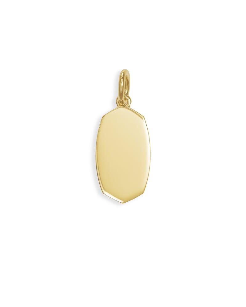 Elisa Charm in 18k Gold Vermeil