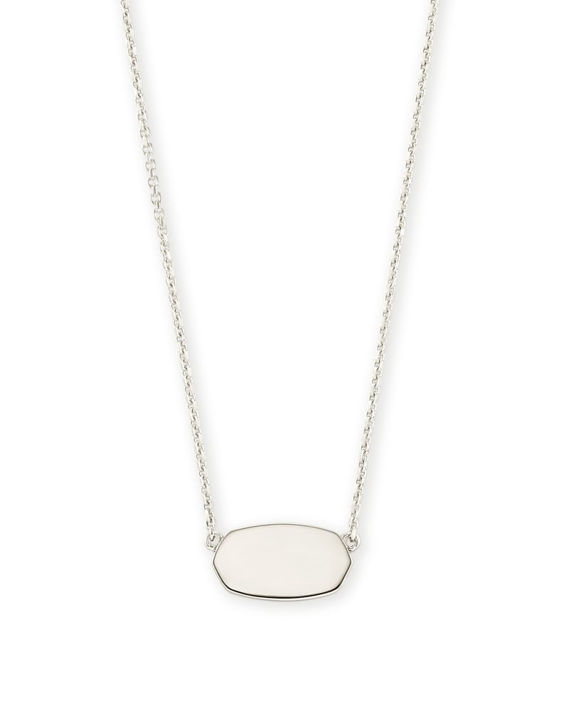 Elisa Pendant Necklace In Sterling Silver