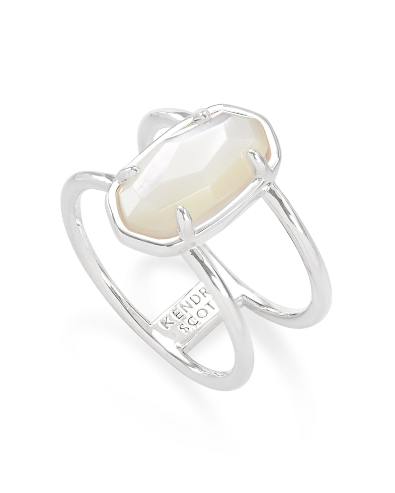 Elyse Sterling Silver Double Band Ring