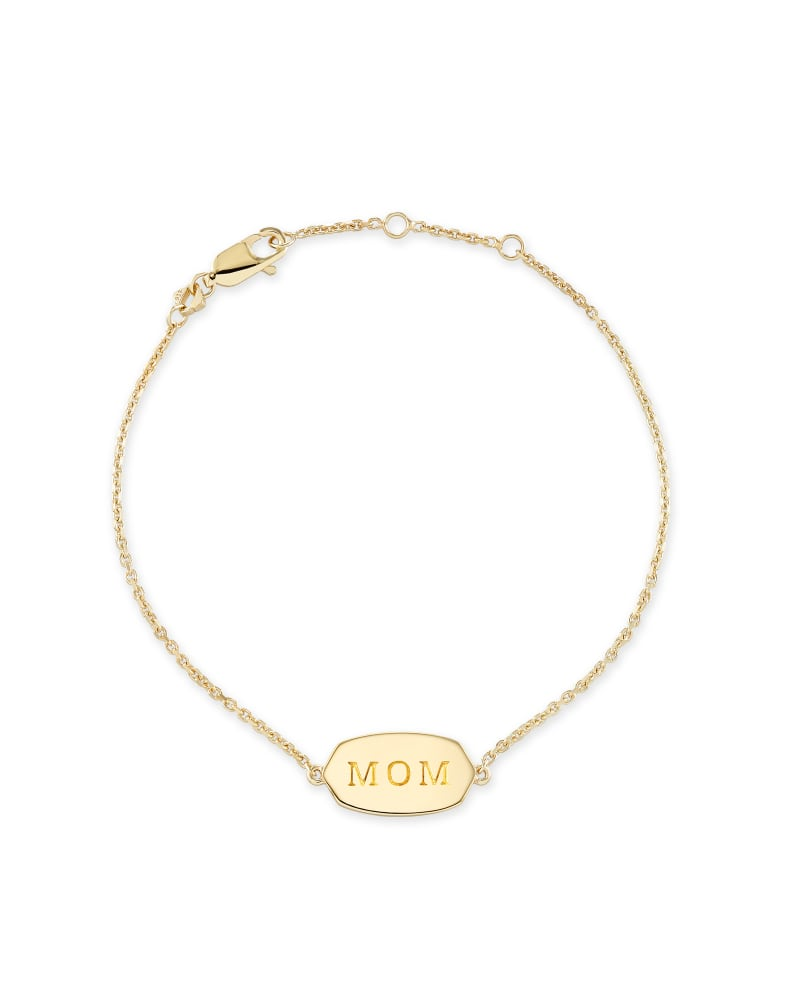 Mom Elaina Bracelet in Gold Vermeil