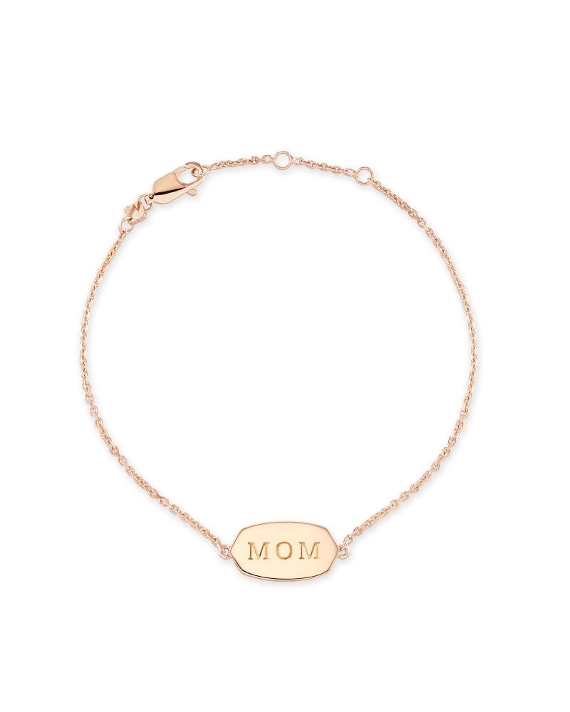 Mom Elaina Bracelet in Rose Gold Vermeil